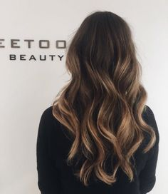 Brown Balayage Hairstyles