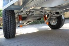 Off road trailer Suspension Tech