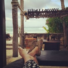 """First vacation since starting Kalon #tulum"" Photo taken by @kalonstudios on Instagram (04/07/2014)"