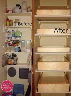 vorratsschrank in der k che einr umen einrichtung pinterest vorratsschrank nahrungsmittel. Black Bedroom Furniture Sets. Home Design Ideas