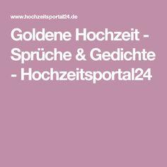 Goldene Hochzeit - Sprüche & Gedichte - Hochzeitsportal24