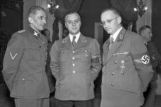 Karl Hermann Frank, Alfred Rosenberg a Konrad Henlein