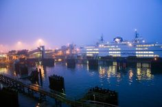 Ferry To Victoria Dock by Randy Dorman