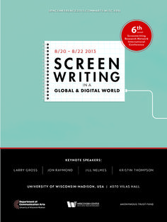 """Bordwell and Thompson report on """"Screenplaying"""""""