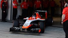 Marussia has hit the track for the first time at Jerez, leaving the garage at with Max Chilton at the wheel. - news from Formula 1