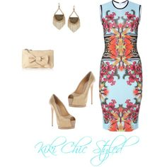 Kaleidoscope, created by Kiki Chic on Polyvore