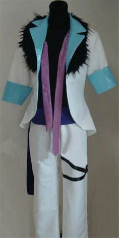 FOCUS-COSTUME Jojo's Bizarre Adventure Kujo Jotaro Suit Cosplay Costume * Find out more about the great product at the image link.