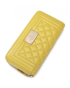 This #trendy_wallet contains Zipper Opening. And colors are available #yellow in this #beautiful_clutches