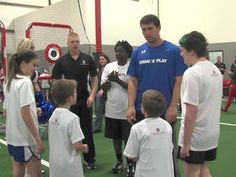 Luck launches Change the Play initiative to promote childrens health