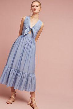 movie date outfit Fashion 2020, Look Fashion, Fashion Outfits, Fashion Design, Dress Skirt, Dress Up, Pink Dress, Lady Like, Tie Front Dress