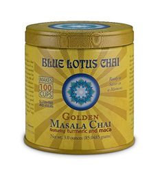 Blue Lotus Golden Masala Chai - 3oz Tin (100 cups) ** Find out more about the great product at the image link.