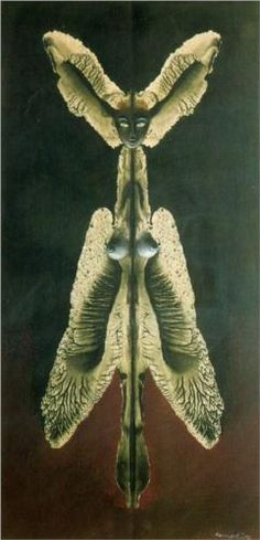 Female spirit of the night - Remedios Varo  Art Experience NYC  www.artexperiencenyc.com