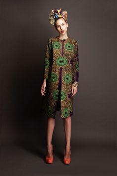 African print - Coat