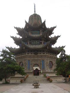 ♥の♥ mausoleum of Sufi master Ma Laichi in Linxia City, China