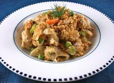 Delicious healthy tuna noodle