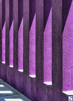 Purple Columns by spacedustdesign via Flickr