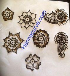 Mehndi Designs For Beginners Step By Step - Flowery Henna | Hennacurve