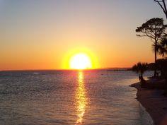 Okaloosa Island, Florida sunsets