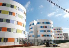 Ruy Ohtake: Conjunto Habitacional Heliópolis. Housing Project, São Paulo, Brazil