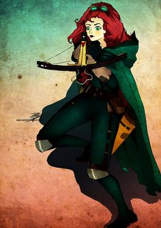Merida Steampunk by themockingmirror