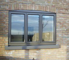 White Chestnut, Tilt And Turn Windows, Aluminium Windows And Doors, Concealed Hinges, Ral Colours, Double Glazed Window, Window Frames, Bungalow, Exterior