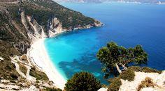 Myrtos beach, Kefalonia Greece