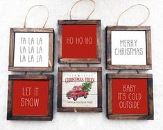 Christmas Projects, Crafts To Sell, Wood Crafts, Christmas Crafts, Christmas Decorations, Diy Crafts, Etsy Christmas, Christmas Ideas, Christmas Signs Wood