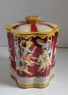 VTG Carousel Tin Can.