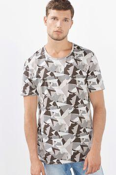edc : T-shirt à imprimé camouflage à acheter sur la Boutique en ligne