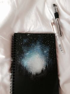 Between the Gaps NoteBook Art Inspirations For Hidden Artists art inspiration 40 Between The Gaps Notebook Art Inspirations For Hidden Artists Notebook Art, Galaxy Notebook, Art Galaxie, Art Watercolor, Wow Art, Galaxy Art, Diy Galaxy, Art Inspo, Painting & Drawing