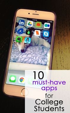 The 10 Best Apps for College Students College Tips #College #student best college tips