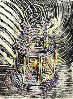 Monoprint Lantern | Flickr - Photo Sharing!