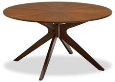 Dining tables are no exception, especially when we are talking about different wooden dining table designs. You may select a wooden dining. Wooden Dining Table Designs, Round Dining Table Modern, Mid Century Dining Table, Wooden Dining Tables, Painted Pedestal Tables, G Floor, Restaurant Tables, Mid Century Modern Furniture, Dining Room Furniture