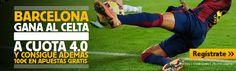 el forero jrvm y todos los bonos de deportes: betfair Barcelona gana Celta cuota 4 liga mas 100 ...