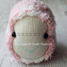 sock sheep eyes