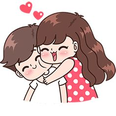 This love for you, send your love to your couple. It's so cute >. Cute Cartoon Pictures, Cute Love Gif, Cute Love Pictures, Funny Pics, Cute Couple Drawings, Cute Love Couple, Cute Drawings, Love Cartoon Couple, Chibi Couple