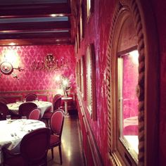 The Columbia's Red Room