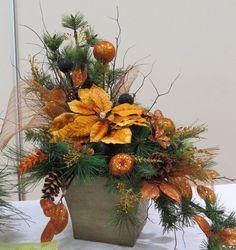 Christmas Gala 2014 Mid Island Floral Art Club Qualicum Beach B.C.Canada