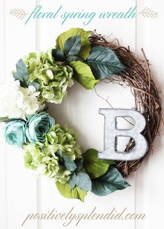 How to Make a Tulle Wreath | Positively Splendid {Crafts, Sewing, Recipes and Home Decor}