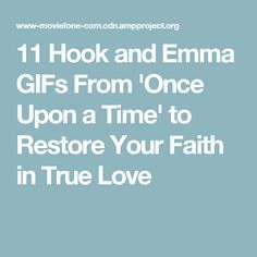 11 Hook and Emma GIFs From 'Once Upon a Time' to Restore Your Faith in True Love Teary Eyes, Hook And Emma, Tv Couples, Emma Swan, Once Upon A Time, Restore, True Love, Restoration, Gifs