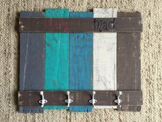 Custom Towel Rack – Pallets with a Purpose