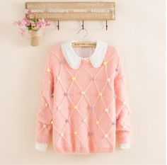 "Fashion kawaii sweater Cute Kawaii Harajuku Fashion Clothing & Accessories Website. Sponsorship Review & Affiliate Program opening!so fashionable and sweet, use this coupon code ""Fanniehuang"" to get all 10% off"