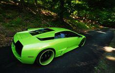 Lime Green Lamborghini | repinned by an #advertising agency from #Hamburg / #Germany - www.BlickeDeeler.de | Follow us on www.facebook.com/Blickedeeler