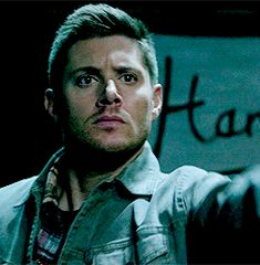 #Dean - Turn around. I was hollering this at Sam too. #yaidjit #SupernaturalDaily 10x05 Fan Fiction