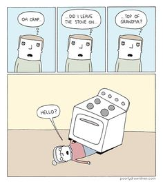 "There is def a V in Stove | Community Post: Why ""Poorly Drawn Lines"" Is Your New Favourite Web Comic"