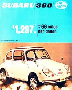 1969 Subaru 360 Catalog