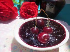 Mermelada de cerezas con Thermomix Olla Gm G, Salsa Dulce, Cherry, Fruit, Recipes, Food, Mayo, Mousse, Drink