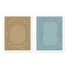 Image result for Sizzix - Textured Impressions - Embossing Folders - 2/Pkg -6x6 Classical Beauty