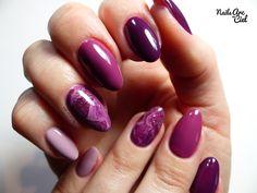Nails Arc-en-ciel: Nail Art - Marbré 100% vernis semi-permanent !
