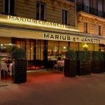 Marius et Jeanette, restaurante de pescado en el 8eme (quaie d'orsay) en Paris.